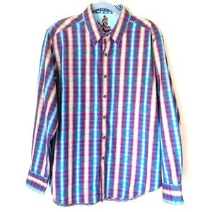 Robert Graham rare button up shirt